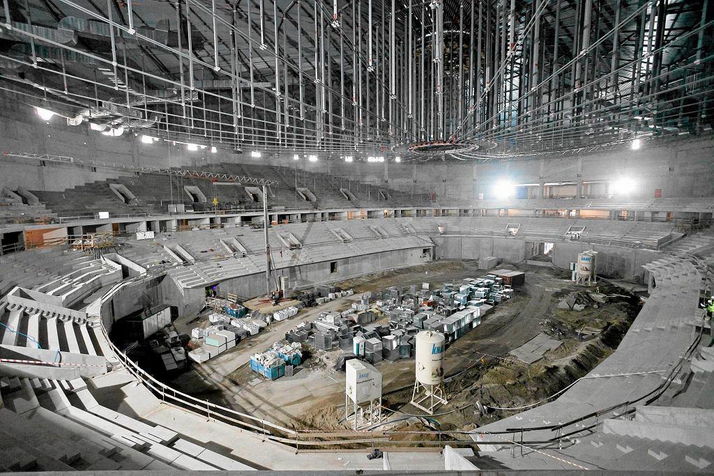 Budowa hali widowiskowo-sportowej w Krakowie