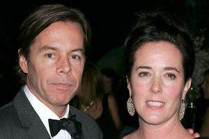 Kate Spade z mężem