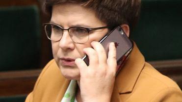 22 Posiedzenie Sejmu VIII Kadencji, Beata Szydło