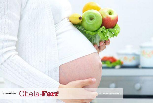 Żelazo w diecie przyszłej mamy