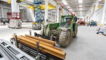 Budowa zakładu serwisowania i naprawy silników lotniczych Xeos