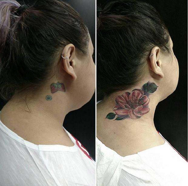 15 Najlepszych Przerobionych Tatuaży Ci Ludzie Już Nie