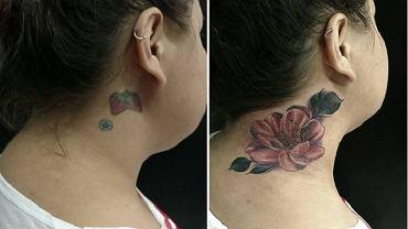 15 najlepiej zakrytych tatuaży