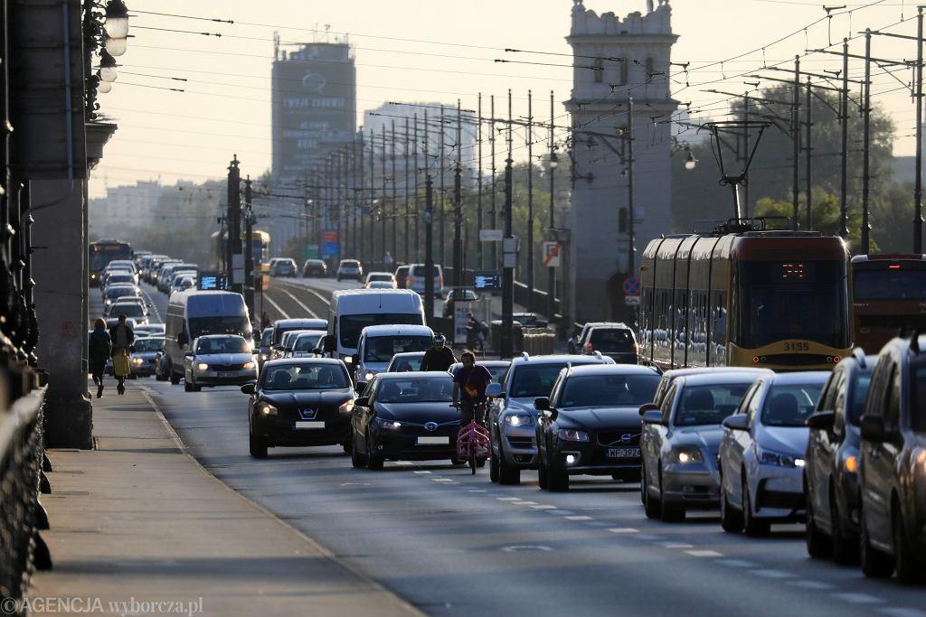 Na moście Poniatowskiego staną fotoradary (zdjęcie ilustracyjne)