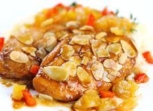 Pierś z kurczaka w sosie brzoskwiniowym - ugotuj