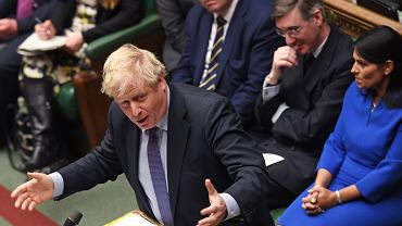 Brytyjski parlament, premier Boris Johnson