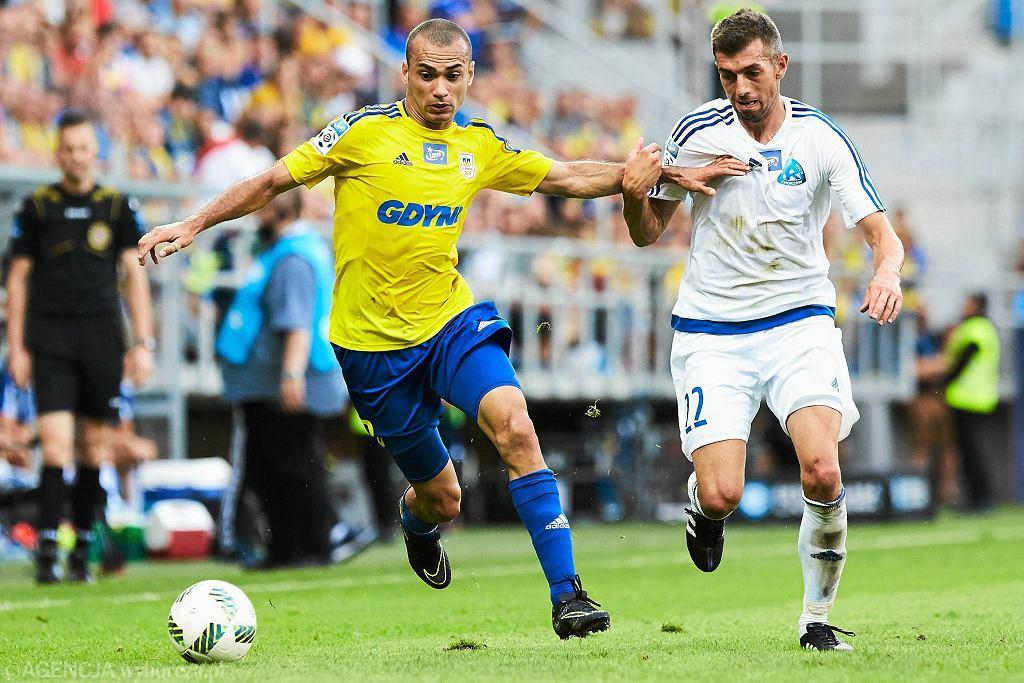 Arka Gdynia - Ruch Chorzów (3:0). Marcus da Silva
