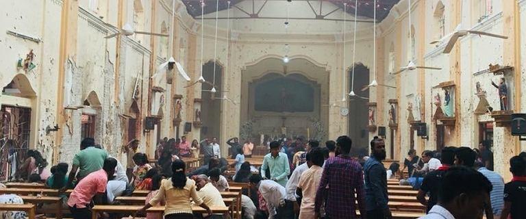 Wybuchy w kościołach i hotelach na Sri Lance. Ponad 200 zabitych