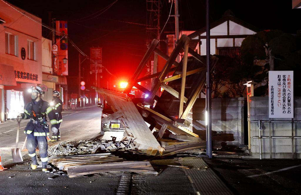 Trzęsienie ziemi w Japonii w prefekturze Fukushima. Rząd ostrzega przed wtórnymi wstrząsami