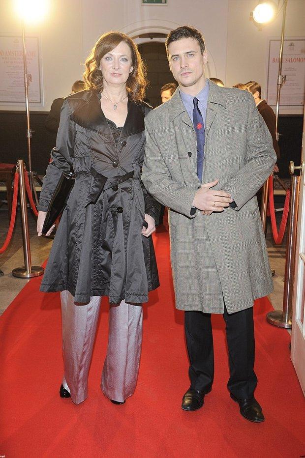 Joanna Damięcka i Mateusz Damięcki