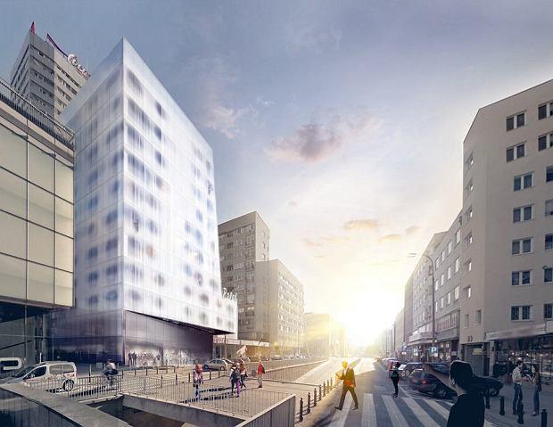 Inwestor planuje przy Złotej 10-piętrowy apartamentowiec zaprojektowany przez pracownię Moon Studio