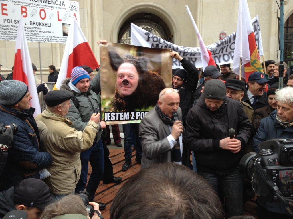 Rolnicy protestowali w Warszawie w zeszłym tygodniu