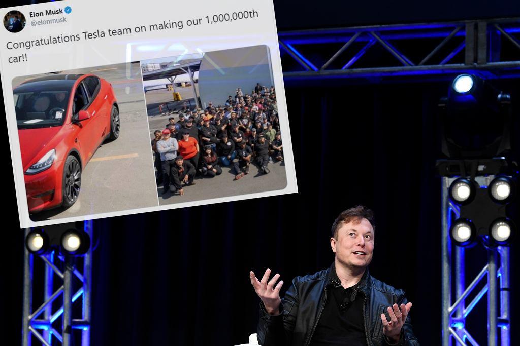 Tesla świętuje wyprodukowanie milionowego samochodu