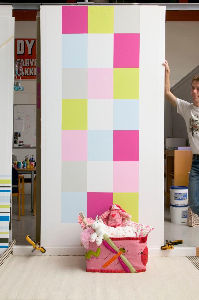 Malowanie - dekoracje. Wielokolorowa