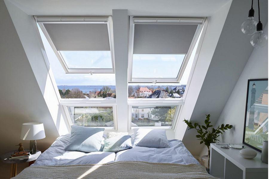 Sypialnia z widokiem na niebo
