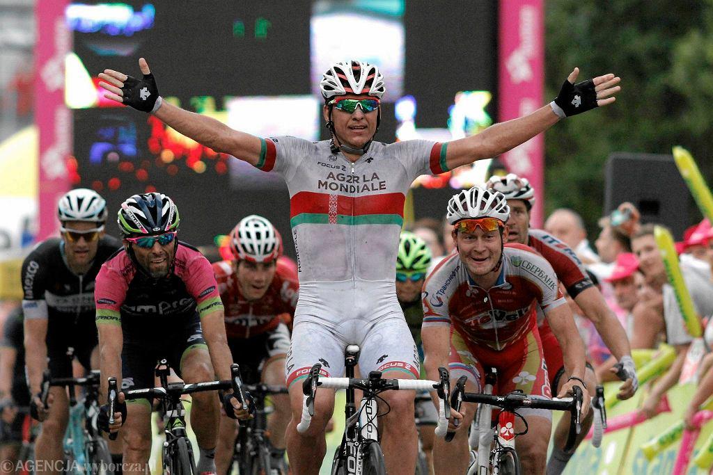 Finał 1 etapu Tour de Pologne
