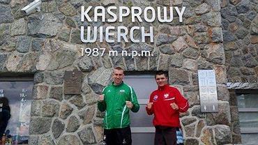 Reprezentanci Akademii Sportów Walki Knockout szykują się do jesiennych walk na obozach kadry