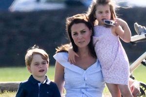 Księżna Kate z dziećmi: George'em i Charlotte