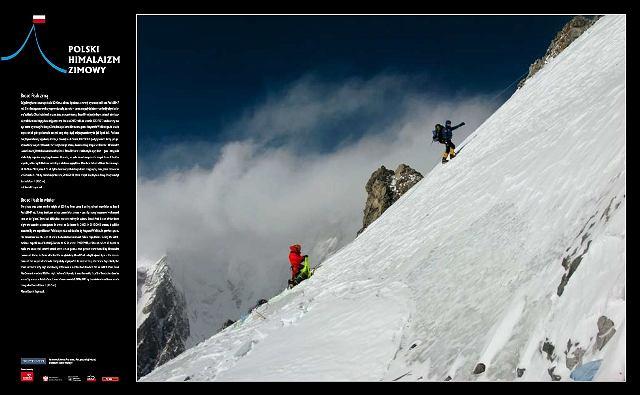 Broad Peak Zimą