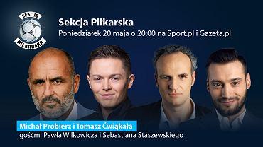 Michał Probierz i Tomasz Ćwiąkała w Sekcji Piłkarskiej
