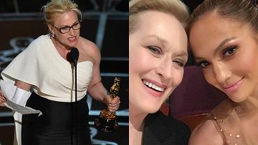 Patricia Arquette, Meryl Streep i Jennifer Lopez