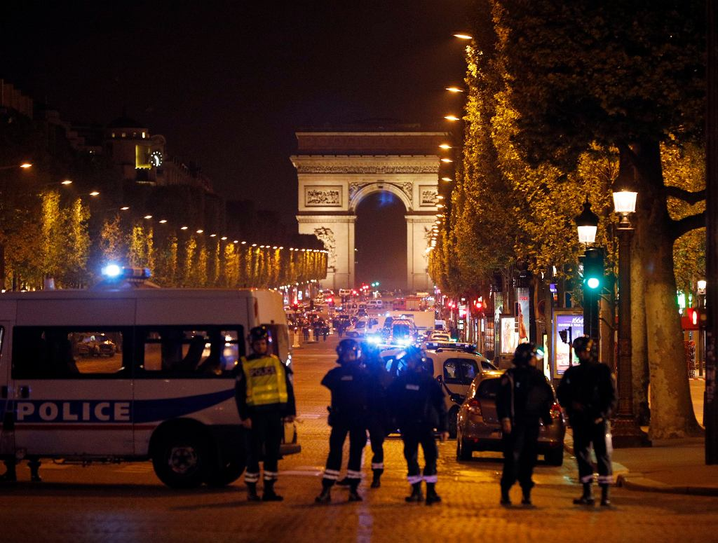 APTOPIX France Paris Police Shot