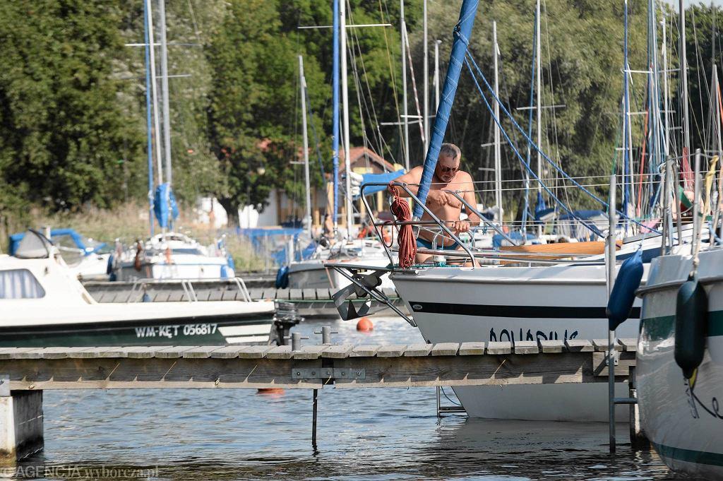 Marina żeglarska w Sztynorcie / Fot. Robert Robaszewski / Agencja Gazeta