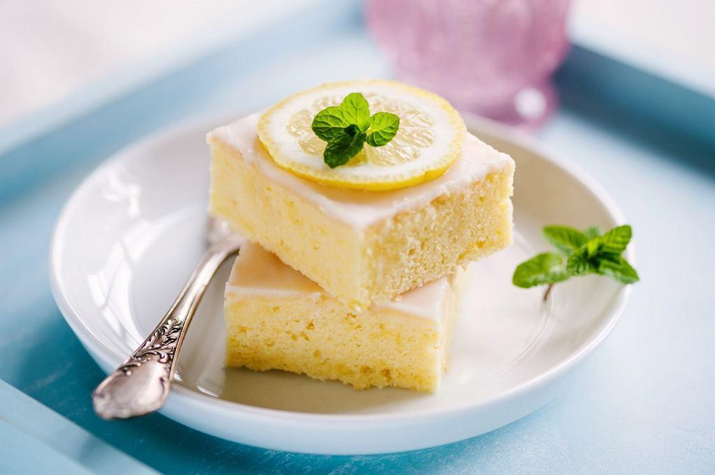 Cytrynowe ciasto cztery ćwiartki