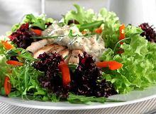 Sałatka z kurczakiem i estragonem - ugotuj