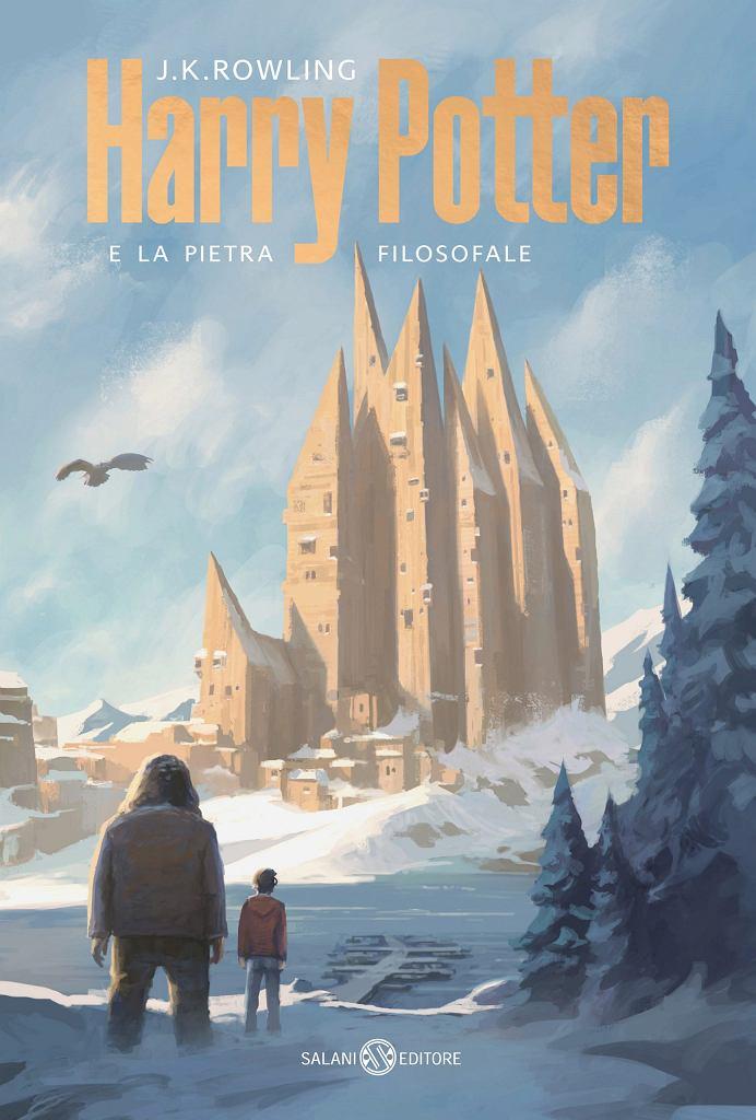 Okładka włoskiego wydania 'Harry Potter i Kamień Filozoficzny'
