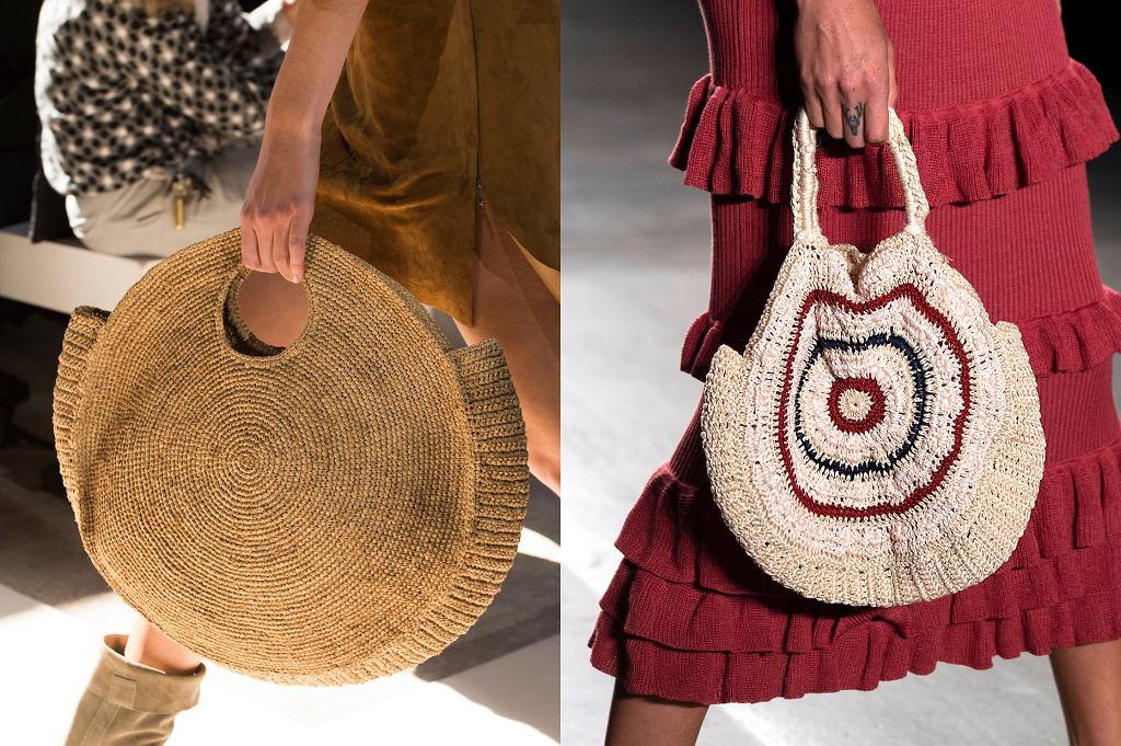 okrągłe torebki