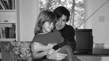 Lisa Brennan-Jobs z ojcem
