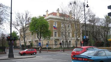 Ambasada Rosji w Budapeszcie. Zdjęcie ilustracyjne