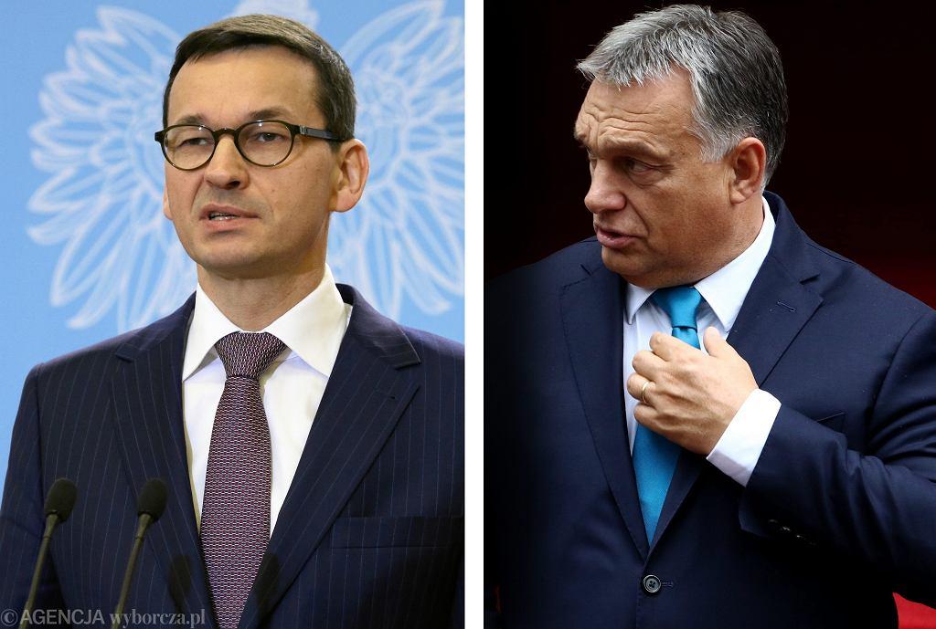 Premier Mateusz Morawiecki spotka się na Węgrzech z Viktorem Orbanem