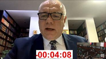 Sejm odrzucił wniosek o wyrażenie wotum nieufności wobec Jacka Sasina