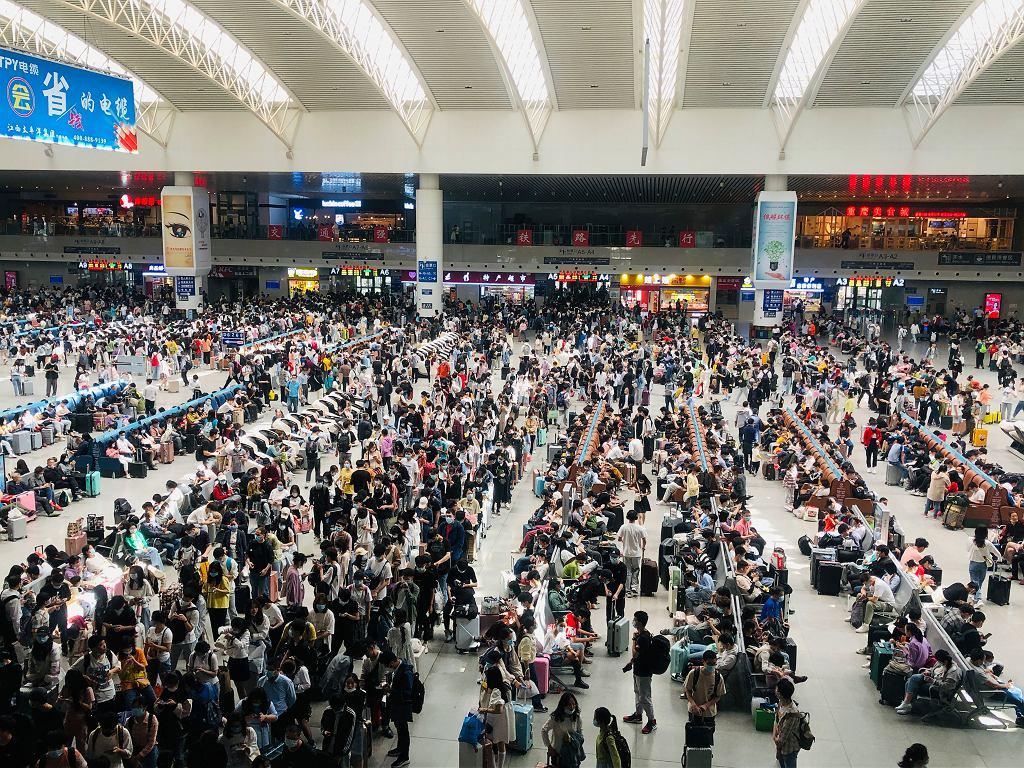 Na lotnisku w Chinach - zdjęcie ilustracyjne