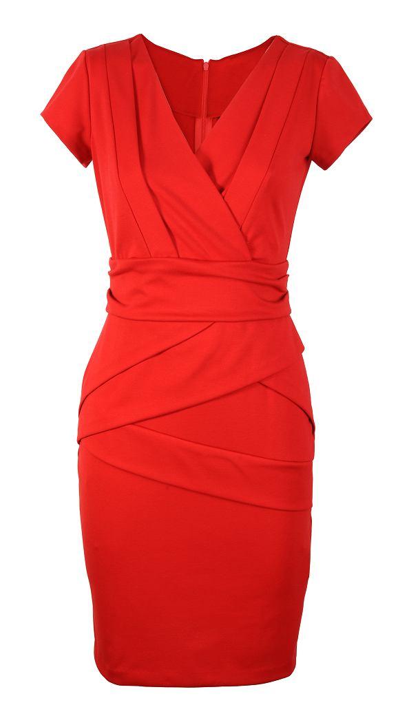 fdd363b8 Sukienki w świątecznych kolorach - idealne na Wigilię
