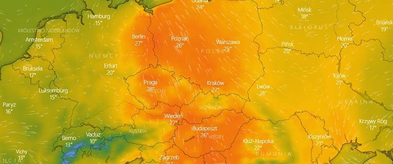 Pierwszy w tym roku upał. W Krakowie termometry pokazały ponad 30 stopni