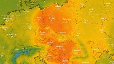 Temperatura we wtorek 11 maja.