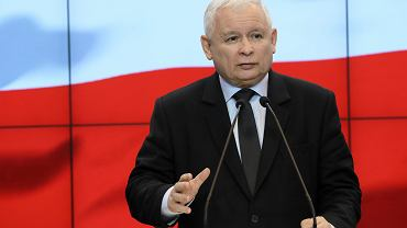 Konferencja prasowa Jaroslawa Kaczynskiego