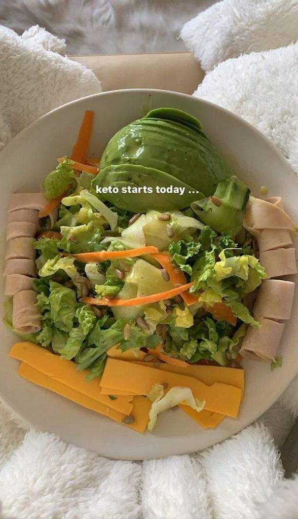 Kourtney Kardashian wraca na dietę keto
