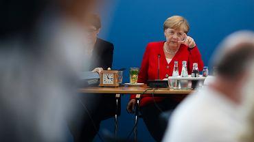 Niemcy. Kanclerz Angela Merkel