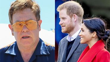 Elton John broni Meghan Markle i księcia Harry'ego