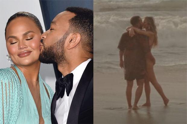 """Chrissy Teigen i John Legend po raz trzeci zostaną rodzicami. Radosną nowiną podzielili się w teledysku do najnowszego klipu """"Wild""""."""
