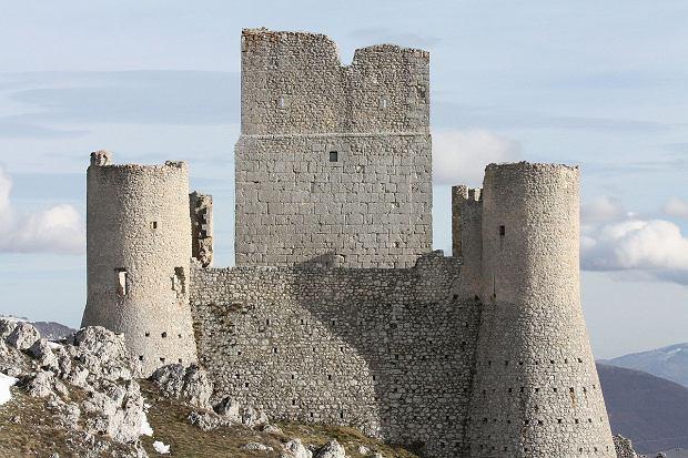 Castello di Rocca Calascio in provincia di Aquila (Abruzzo)