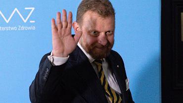 Minister zdrowia Łukasz Szumowski w Warszawie podaje się do dymisji
