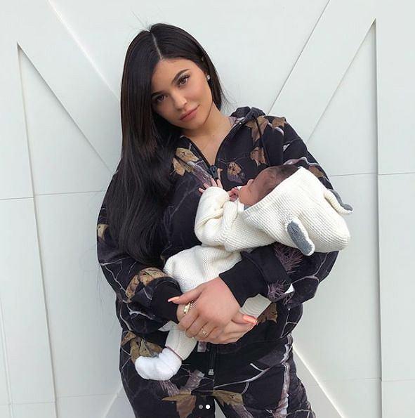 Stormi Webster, Kylie Jenner