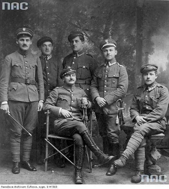 Pierwsze dowództwo polskie w Wieliczce