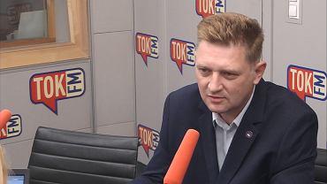 Andrzej Rozenek w studiu Radia TOK FM