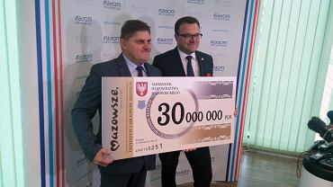 Kolejne 30 mln zł na budowę obwodnicy południowej. Wicemarszałek Leszek Ruszczyk i prezydent Radosław Witkowski podpisali umowę o zwiększeniu dofinansowania.